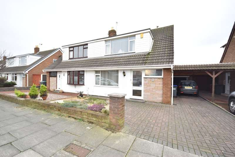 3 Bedrooms Semi Detached Bungalow for sale in Bexley Avenue, Blackpool