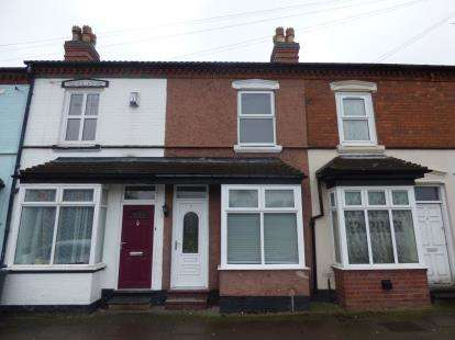 3 Bedrooms Terraced House for sale in Cheddar Road, Balsall Heath, Birmingham, West Midlands