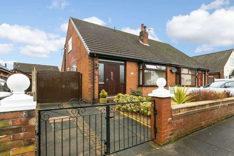 2 Bedrooms Semi Detached Bungalow for sale in Douglas Bank Drive, Springfield, WN6 7NH