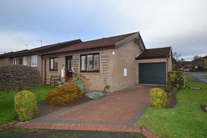 2 Bedrooms Semi Detached Bungalow for sale in West Close, Morpeth