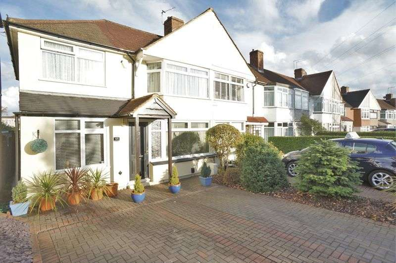 3 Bedrooms Terraced House for sale in Harcourt Avenue, Sidcup, DA15 9LH