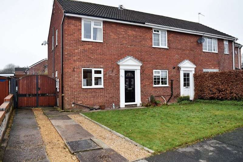 3 Bedrooms House for sale in Sycamore Avenue, West Heath, Congleton, CW12 4TY