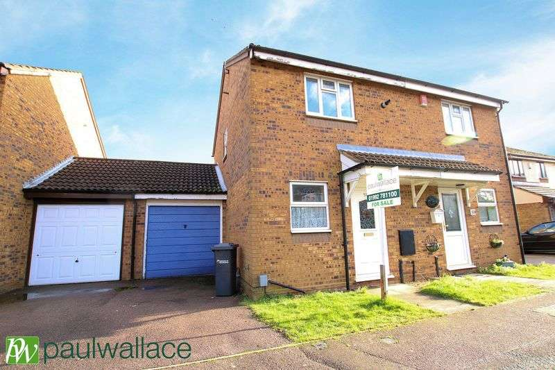 2 Bedrooms Semi Detached House for sale in Benedictine Gate, Cheshunt