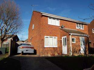2 Bedrooms Semi Detached House for sale in Cowdrey Close, Willesborough, Ashford, Kent