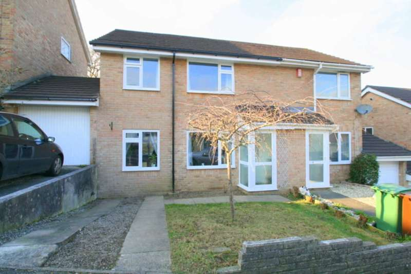 3 Bedrooms Semi Detached House for sale in Chelmer Close, Plympton