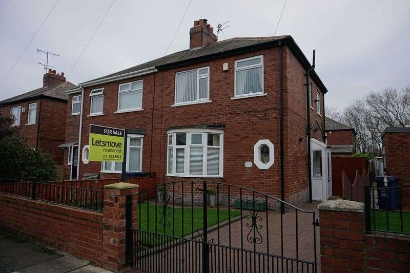 2 Bedrooms Semi Detached House for sale in ** HOT PROPERTY ** Iolanthe Crescent, Newcastle Upon Tyne