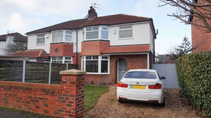 3 Bedrooms Property for sale in Heyes Lane, Timperley