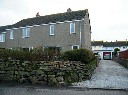 3 Bedrooms Semi Detached House for sale in Lower Boscaswell, Pendeen, Penzance