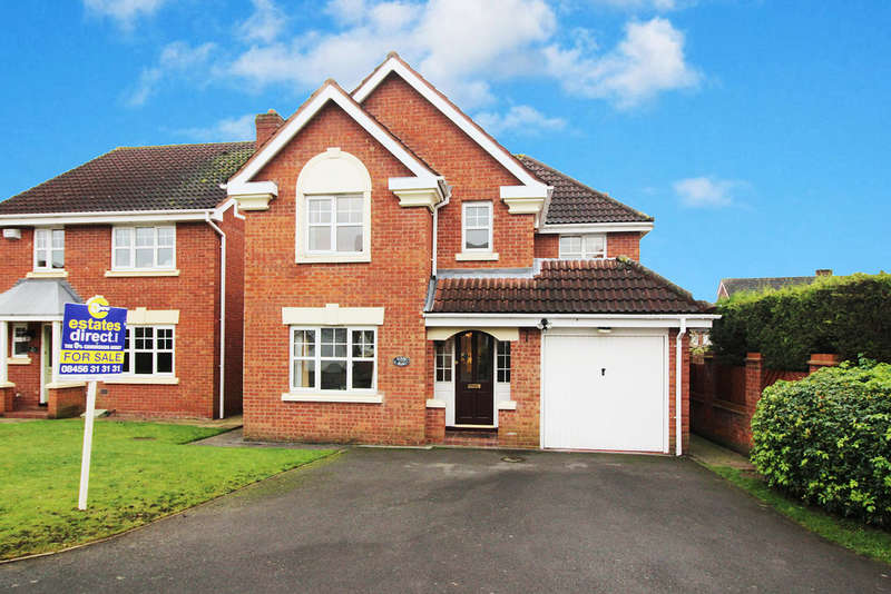 4 Bedrooms Detached House for sale in Cairndhu Drive, Kidderminster, DY10