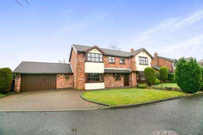4 Bedrooms Detached House for sale in Foxhill Chase, Offerton, Stockport, Chehsire