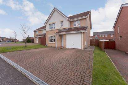 4 Bedrooms Detached House for sale in Forrestburn Road, Coatbridge, North Lanarkshire