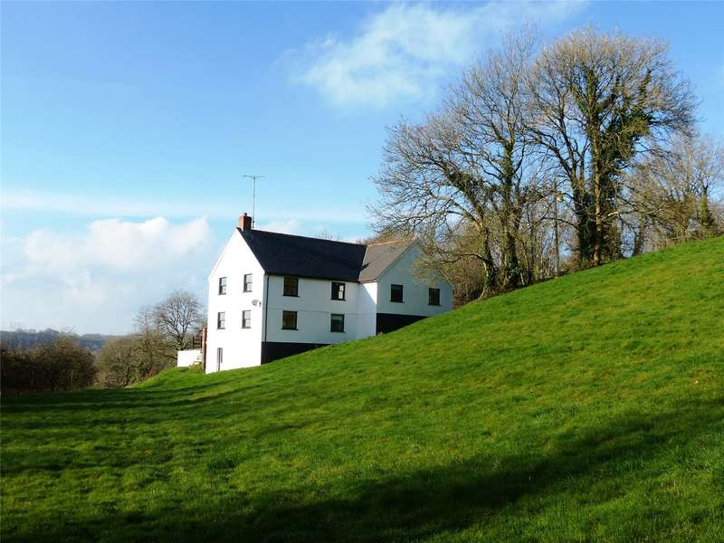 4 Bedrooms Detached House for sale in Isfryn, Llandissilio, Clynderwen, Pembrokeshire
