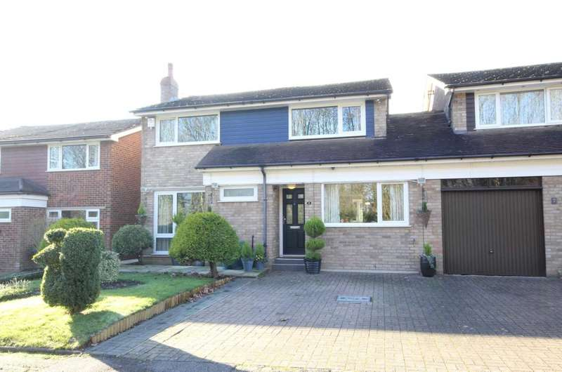 4 Bedrooms Link Detached House for sale in OVER 1380 SQ FT - 4 BED IN ARUNDEL CLOSE, HP2