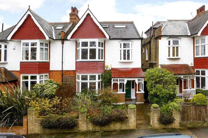 5 Bedrooms Semi Detached House for sale in Kenilworth Avenue, Wimbledon, SW19