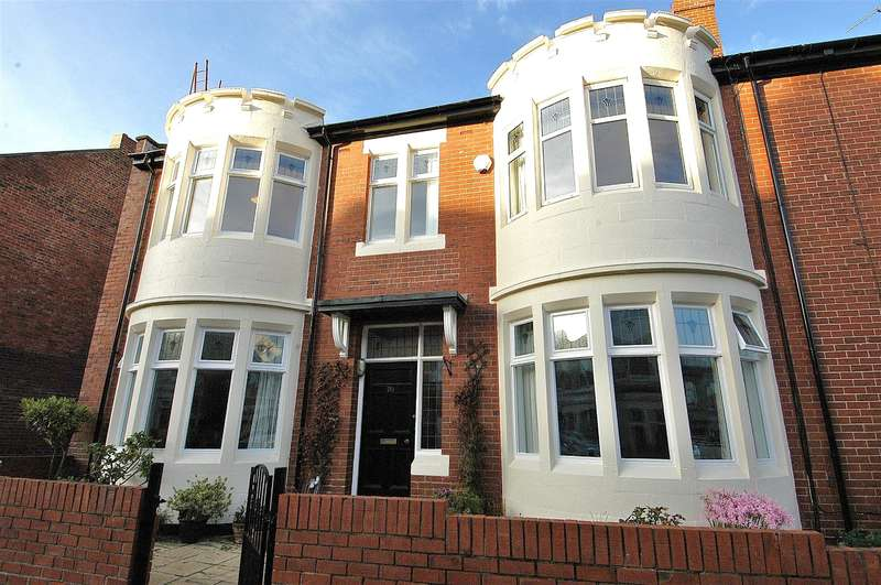 5 Bedrooms End Of Terrace House for sale in Hotspur Street, Tynemouth