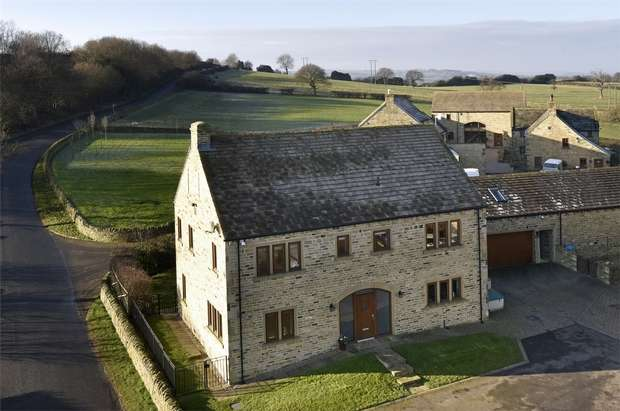 5 Bedrooms Detached House for sale in Upper Bagden Farm, Bagden Lane, Clayton West, HUDDERSFIELD, West Yorkshire