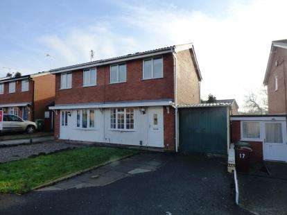 2 Bedrooms Semi Detached House for sale in Dart Avenue, Western Downs, Stafford, Staffordshire