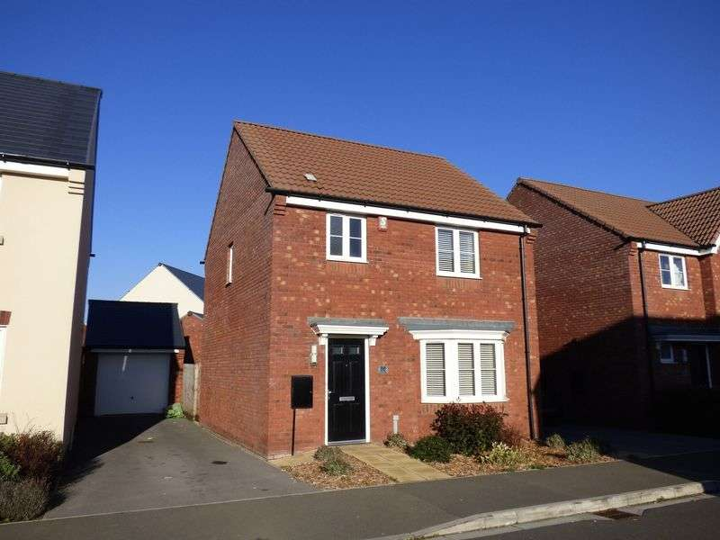 3 Bedrooms Detached House for sale in Wilson Gardens, West Wick, Weston-Super-Mare