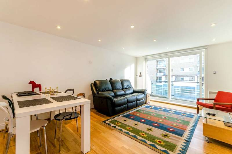 2 Bedrooms Flat for sale in Riverside West, Wandsworth Town, SW18