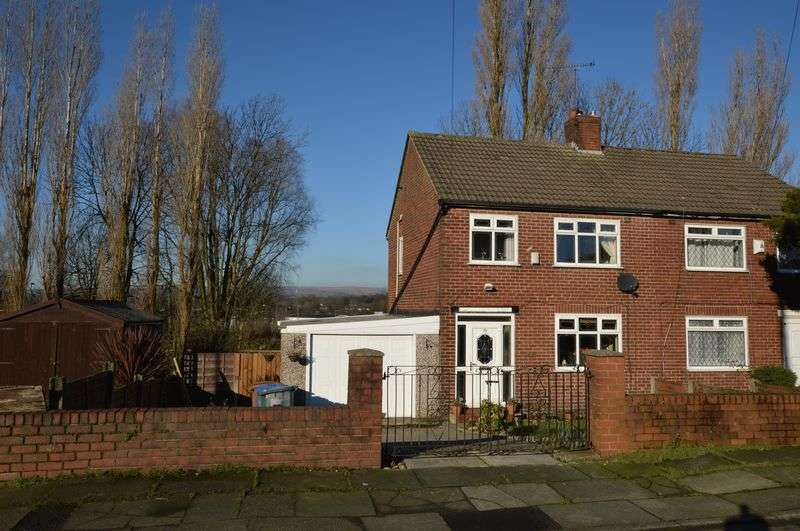 3 Bedrooms Semi Detached House for sale in Dunlop Avenue, Rochdale