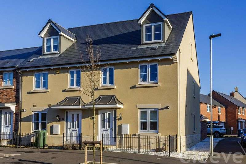 3 Bedrooms Terraced House for sale in Huntlowe Close, Bishops Close
