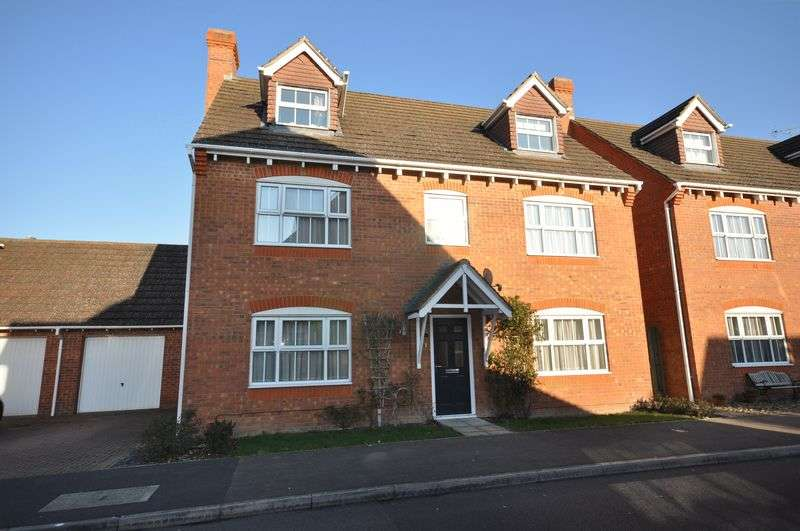 5 Bedrooms Detached House for sale in Flagstaff Square, Thatcham