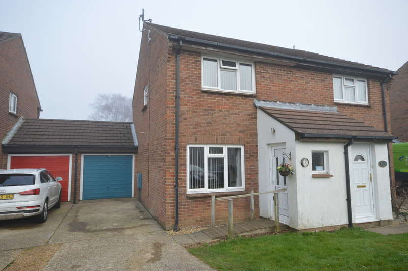 2 Bedrooms Semi Detached House for sale in Carisbrooke Court, New Milton
