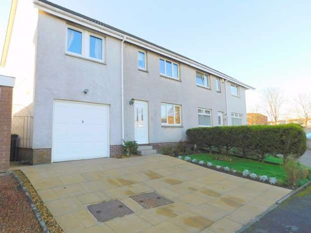 4 Bedrooms Semi Detached House for sale in Echline Place, South Queensferry, EH30