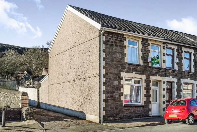 2 Bedrooms End Of Terrace House for sale in North Road, Ferndale