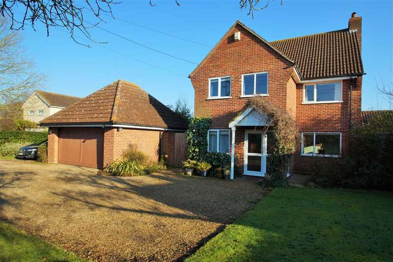 4 Bedrooms Detached House for sale in Pepper House, Hall Road, Mount Bures, Colchester