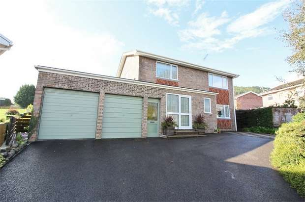 4 Bedrooms Detached House for sale in Elm Drive, Llanellen, ABERGAVENNY, Monmouthshire