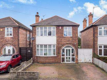 3 Bedrooms Detached House for sale in Franklyn Gardens, Nottingham, Nottinghamshire