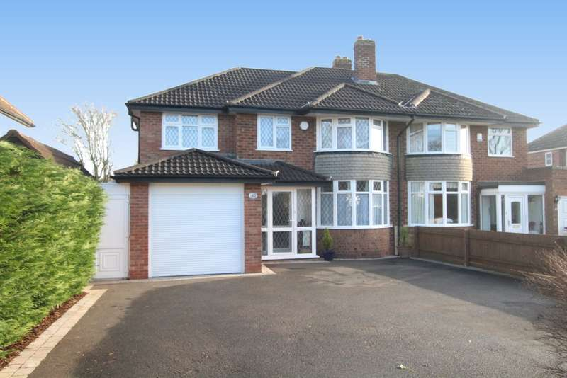 5 Bedrooms Semi Detached House for sale in Whitehouse Common Road, Sutton Coldfield B75 6DP