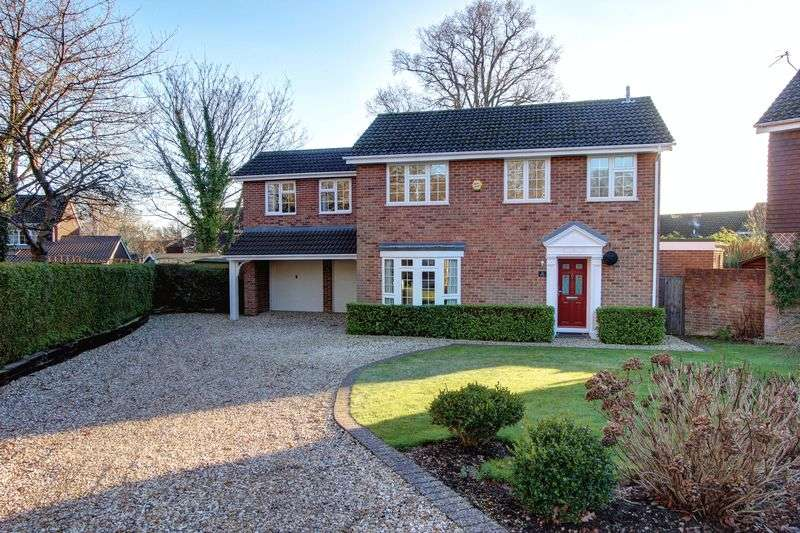 4 Bedrooms Detached House for sale in Fernyhurst Avenue, Rownhams, Hampshire