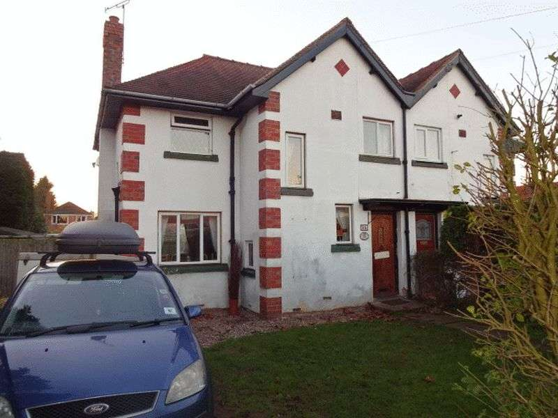 3 Bedrooms Semi Detached House for sale in Sion Hill, Kidderminster DY10 2XS