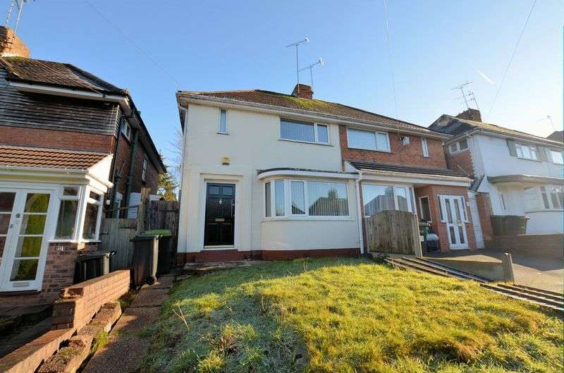 3 Bedrooms Semi Detached House for sale in Lewis Road, Oldbury