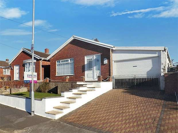 3 Bedrooms Detached Bungalow for sale in Delffordd, Rhos, Pontardawe, Swansea, West Glamorgan