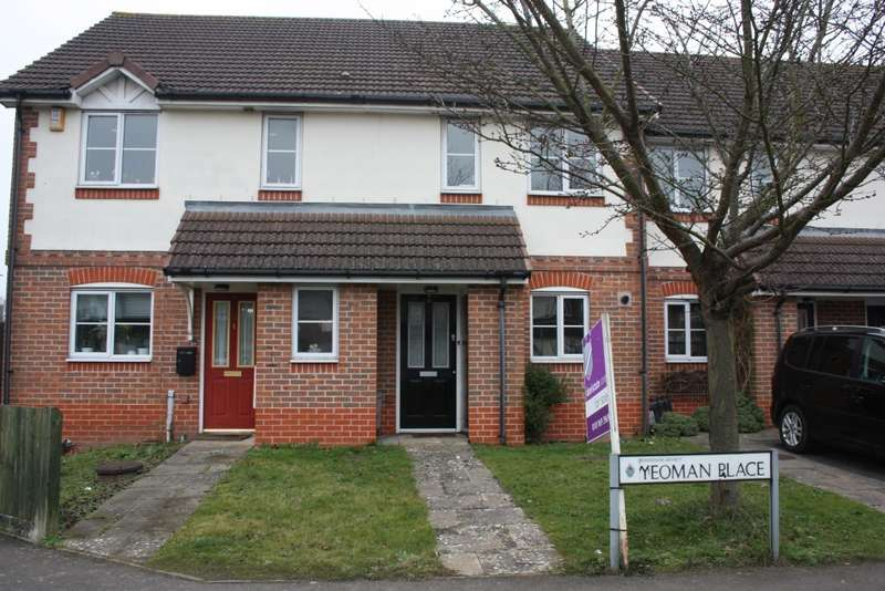 2 Bedrooms Terraced House for sale in Yeoman Place, Woodley, Reading, RG5