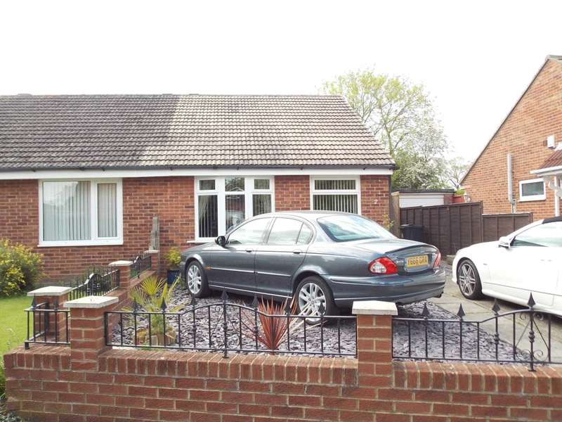 2 Bedrooms Semi Detached Bungalow for sale in Argyll Close, Darlington