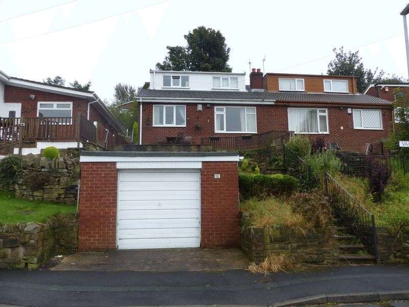 4 Bedrooms Semi Detached Bungalow for sale in Vale Road, Shaw