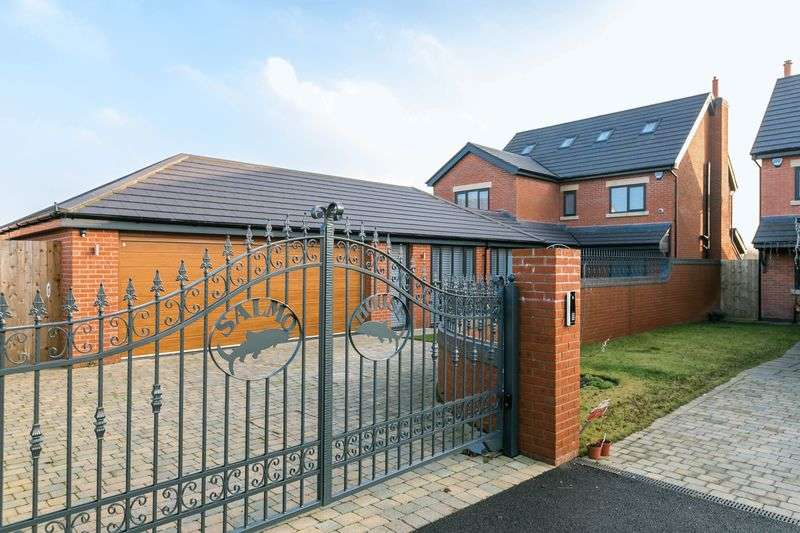 5 Bedrooms Detached House for sale in Salmo House, Pennington Close, Crawford, Lancashire, WN8 9QR