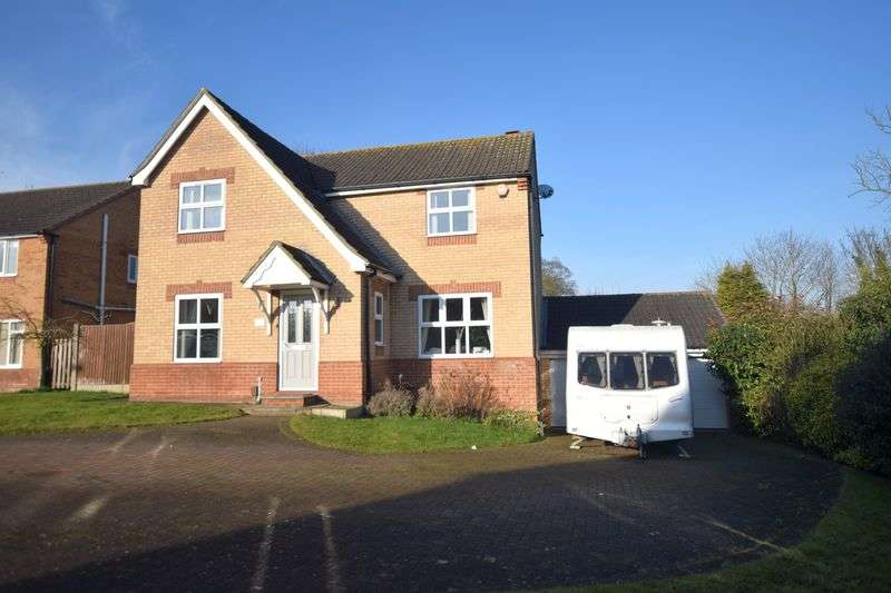 4 Bedrooms Detached House for sale in Kenyon Close, Heighington, Lincoln