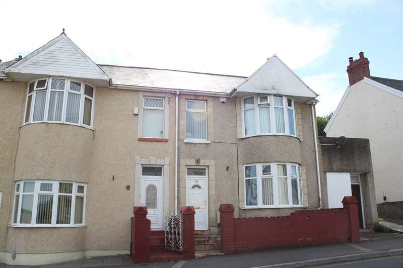 4 Bedrooms Semi Detached House for sale in Chemical Road, Morriston, Swansea