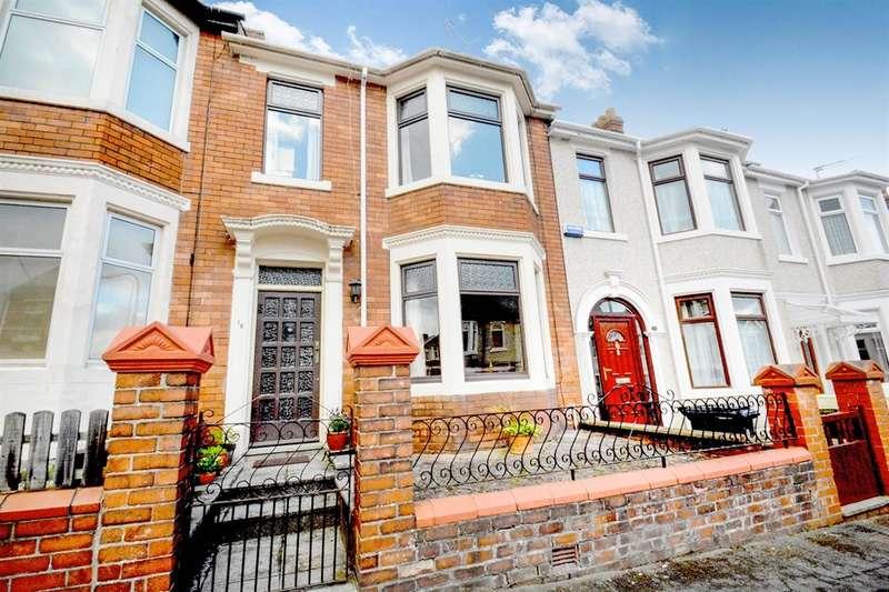 3 Bedrooms Terraced House for sale in Hubert Road, Newport
