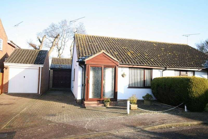 2 Bedrooms Semi Detached Bungalow for sale in Eckersley Drive, Fakenham, NR21 9RY