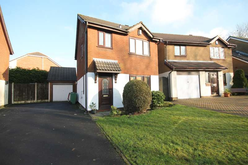 3 Bedrooms Detached House for sale in Oldstead Grove, Ferncrest, Bolton, BL3 4XW