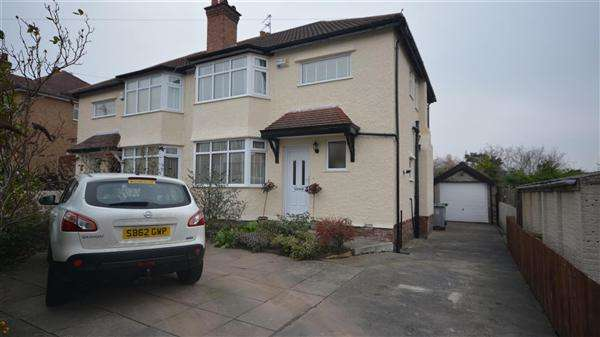 3 Bedrooms Semi Detached House for sale in Hillingdon Avenue, Heswall