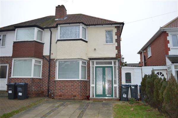 3 Bedrooms Semi Detached House for sale in Allerton Road, Yardley, Birmingham