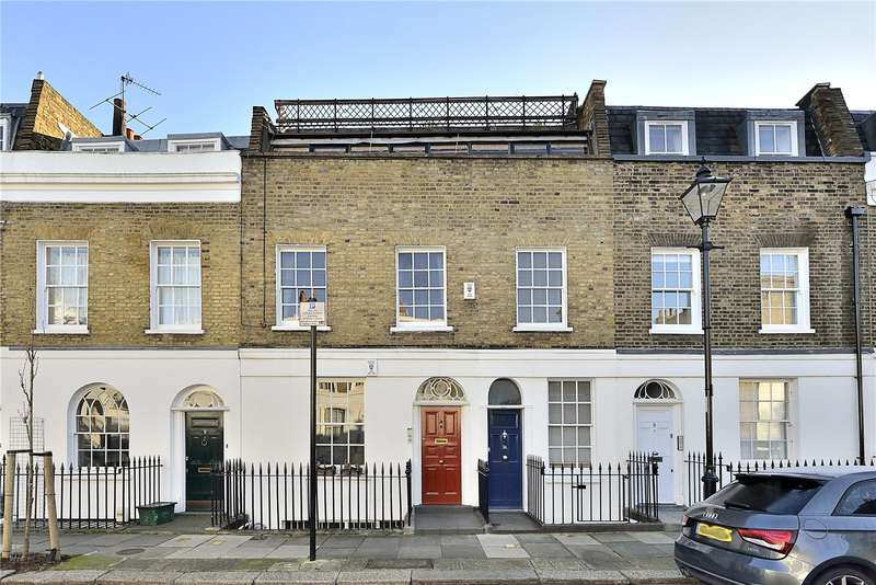 3 Bedrooms Flat for sale in Quick Street, London, N1