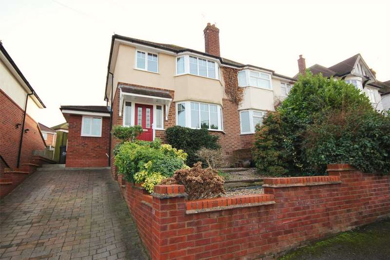 3 Bedrooms Semi Detached House for sale in Leslie Avenue, Northwick, Worcester